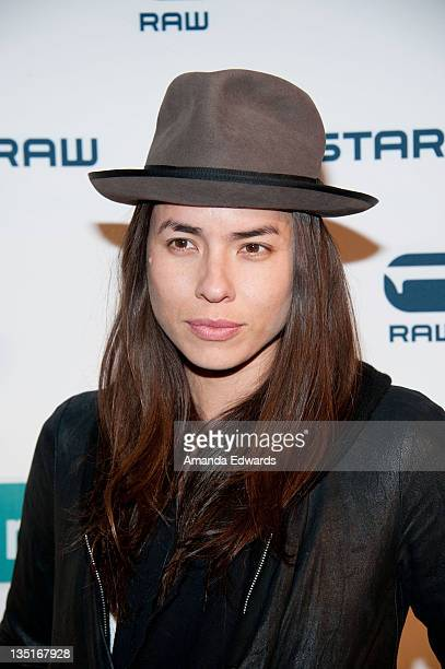 Photographer Tasya Van Ree arrives at the GStar Los Angeles Denim Store Opening at the GStar Rodeo Drive Store on December 6 2011 in Beverly Hills...