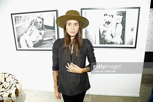 Photographer Tasya Van Ree attends the launch of PhotoManagement at galerie Opera on November 10 2015 in Paris France