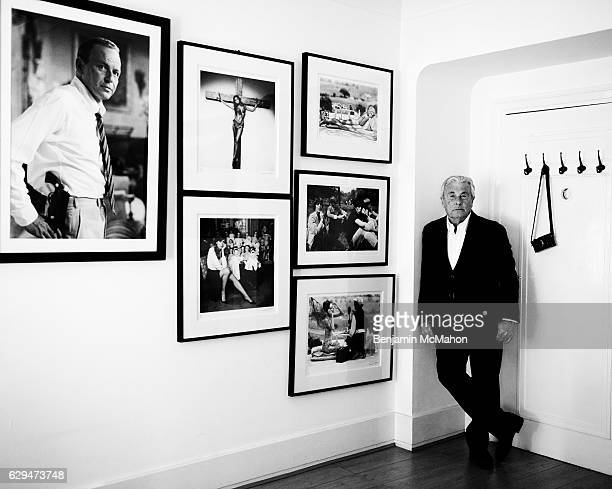 Photographer Terry O'Neill is photographed for Mr Porter magazine on September 15 2016 in London England