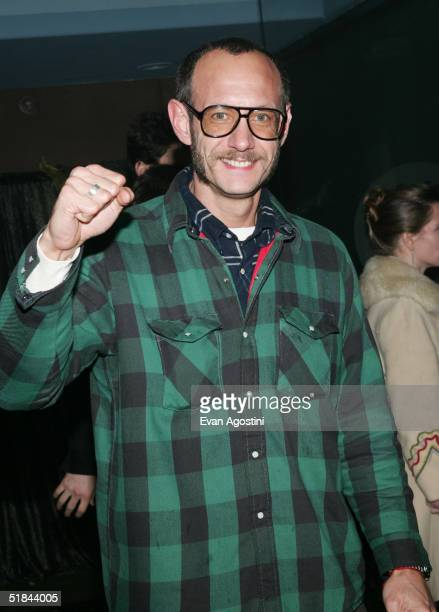"Photographer Terry Richardson attends ""The Life Aquatic With Steve Zissou"" premiere after party at Roseland Ballroom December 9, 2004 in New York..."