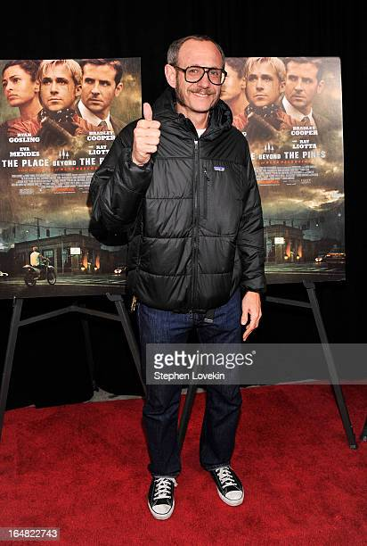 Photographer Terry Richardson attends The Place Beyond The Pines New York Premiere at Landmark Sunshine Cinema on March 28 2013 in New York City