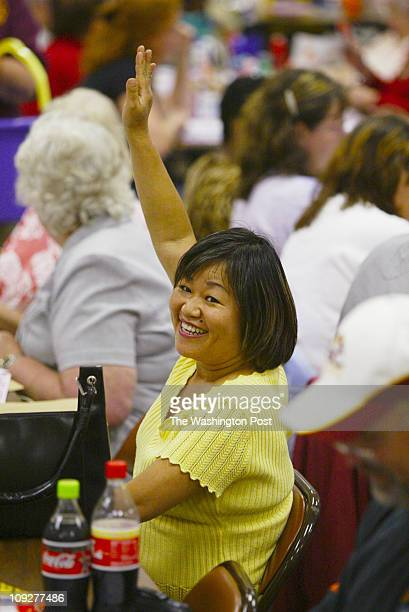 Tracy A Woodward/TWP NEGATIVE NUMBER 160235 Leesburg VA A bingo blowout will be the Leesburg's volunteer fire department's $20000 finale to its...