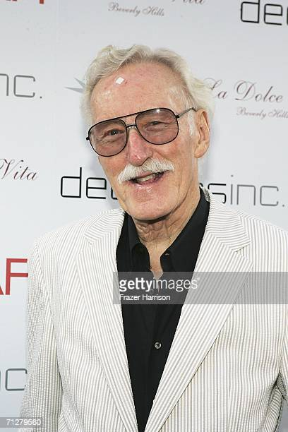 Photographer William Claxton arrives at the celebration for the 40th anniversary of La Dolce Vita Restaurant on June 22, 2006 in Beverly Hills,...