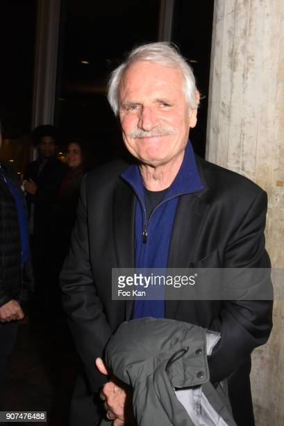 Photographer Yann Arthus Bertrand attends 'Jane' National Geographic Documentary on Jane Goodall Premiere at UNESCO on January 19 2018 in Paris France