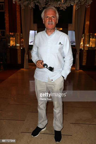 Photographer Yann Arthus Bertrand is spotted at the'Majestic' hotel during the 70th annual Cannes Film Festival at on May 24 2017 in Cannes France