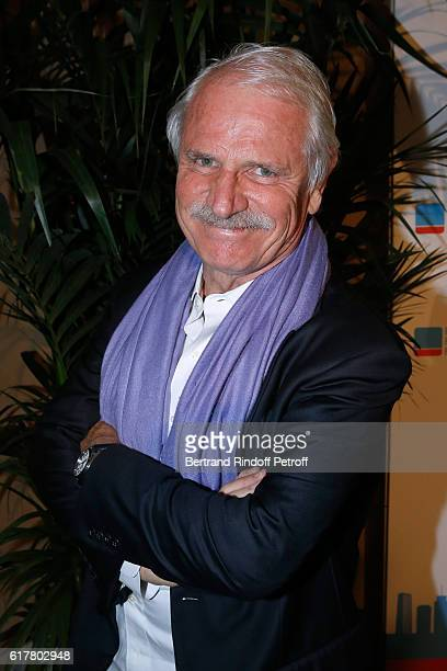 Photographer Yann ArthusBertrand attends the FrenchAmerican Foundation Dinner Gala at Palais de Chaillot on October 24 2016 in Paris France