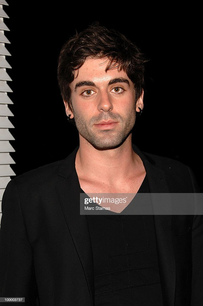 Photographer/Artist Zach Hyman attends the opening of the Vilcek Foundation's exhibition of