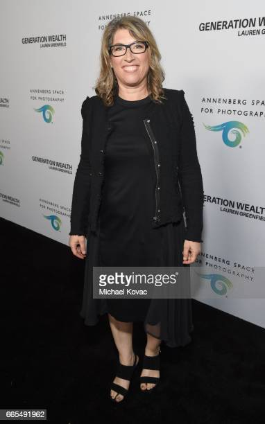 Photographer/filmmaker Lauren Greenfield at GENERATION WEALTH By Lauren Greenfield at Annenberg Space For Photography on April 6 2017 in Century City...