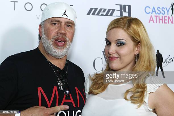Photographers Arnold Turner and Cassy Athena attended NEO 39 Presents The Cassy Athena Collection PreESPYS Celebration at MR33B on July 14 2015 in...