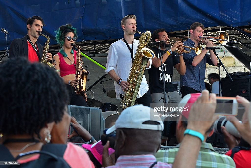 US-MUSIC-JAZZ FESTIVAL : News Photo
