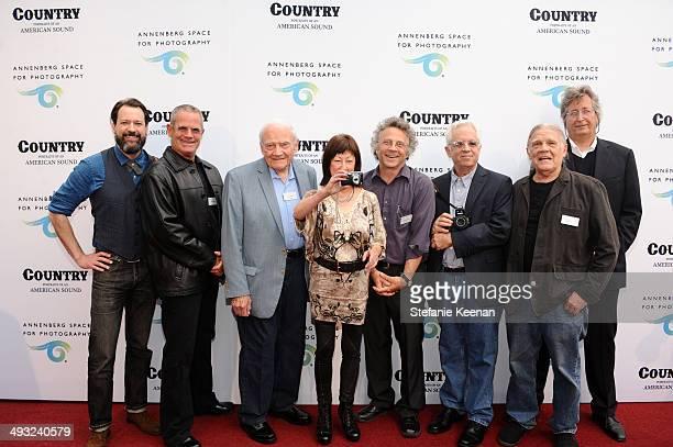 Photographers David McClister Devik Wiener Les Leverett Raeanne Rubenstein Michael Wilson Henry Horenstein Henry Diltz and Ethan Russell attend the...