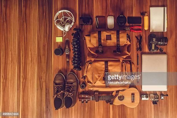 Photographer's gear