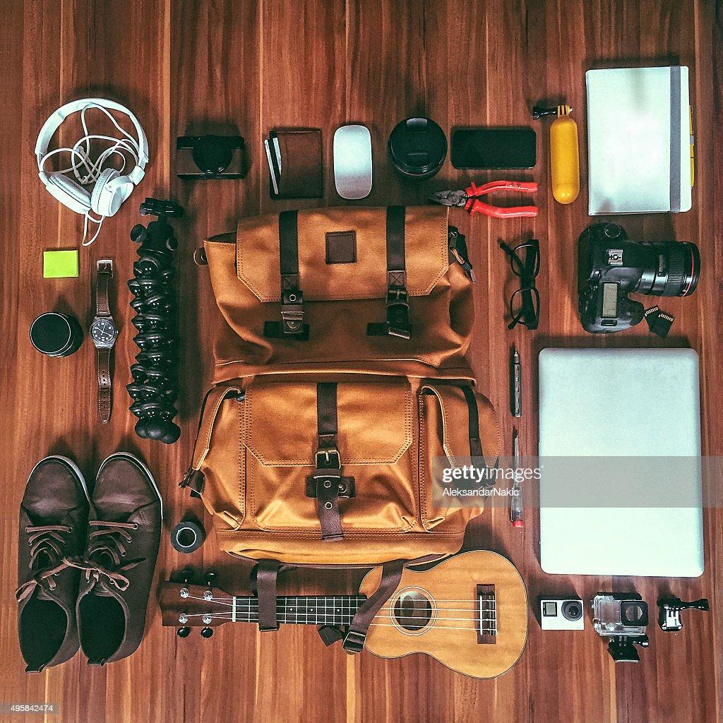 Photographer's gear : Stock Photo
