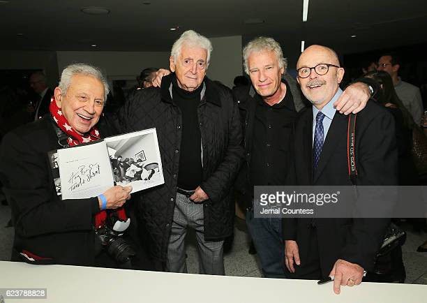 Photographers Ron Galella Harry Benson Jeff Widener and Richard Drew attend TIME's 100 Most Influential Photos Of All Time Event on November 16 2016...
