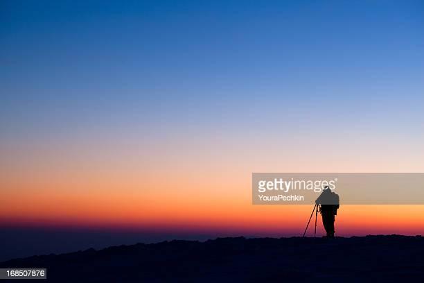 Fotograf's silhouette