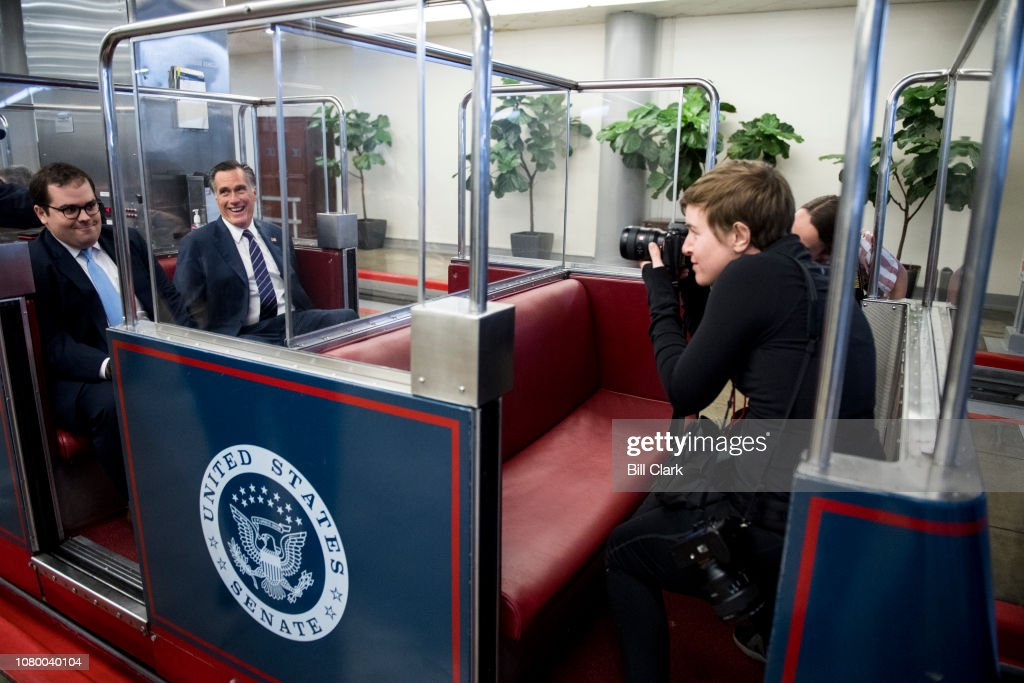 Sen. Mitt Romney : News Photo