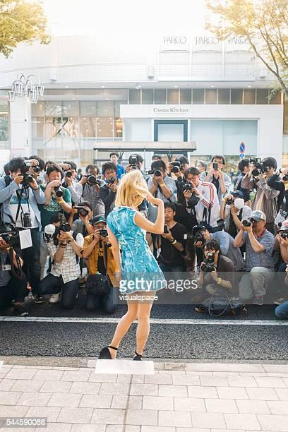 Photographe prendre des photos de cosplayer de Nagoya