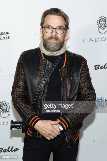 Photographer/writer Thorsten Von Overgaard attends Bello Magazine's December Issue Launch Party with 'Modern Family' star Nolan Gould at Hills...
