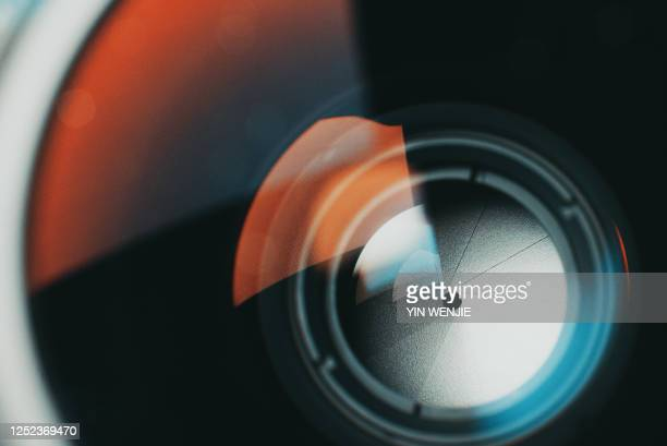 photographic aperture - home video camera stock pictures, royalty-free photos & images