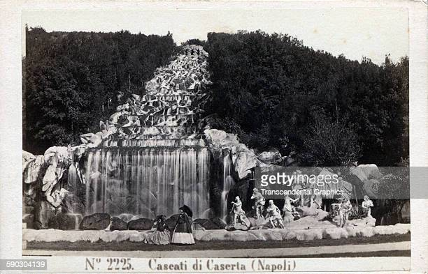 Photographic Cartedevisite Of A Museum Relics From Historical Times Naples Italy Circa 1870