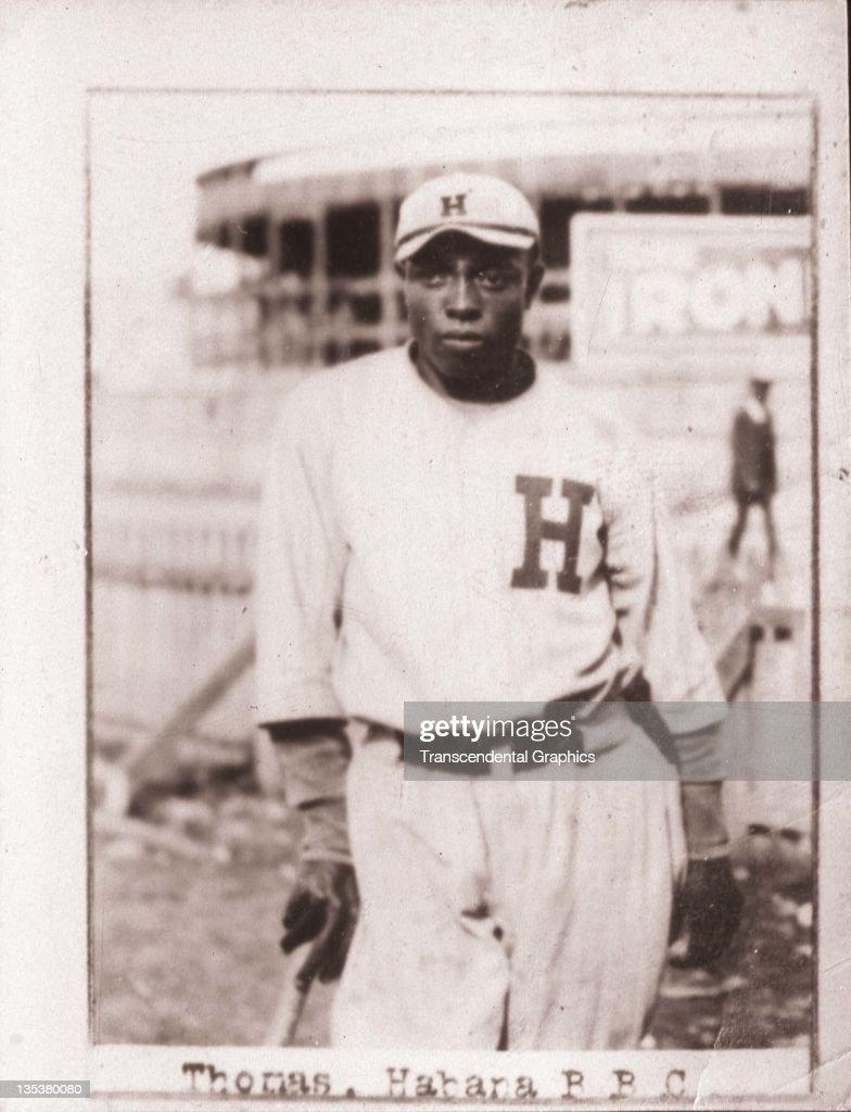 Clint Thomas Negro League Star : News Photo