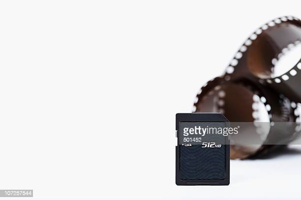 Photographic film and flash card