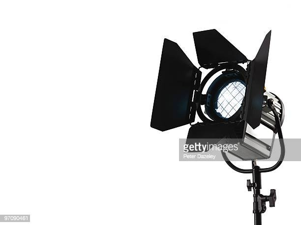 photographic film and television spotlight - spotlight film stock photos and pictures