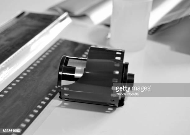 Photographic film  with negatives