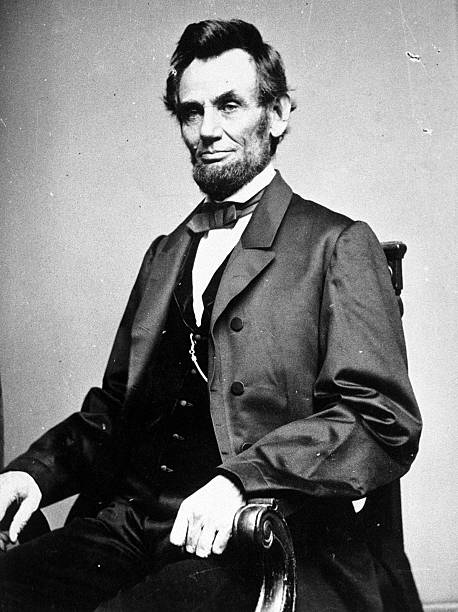 A photographic portrait is displayed showing Abraham Lincoln the 16th president of the United States Retired physician and medical historian Norbert...