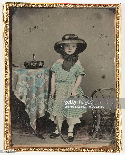 Photographic portrait of a young girl taken from the Howard and Jane Ricketts collection held at the National Museum of Photography, Film &...