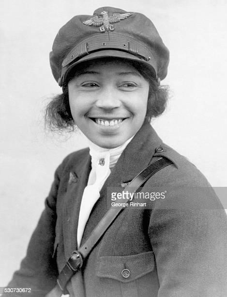 1/24/1923 Photographic portrait of Bessie Coleman first black woman aviatrix BPA2# 364