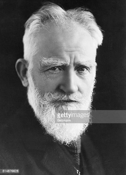 Photographic portrait of George Bernard Shaw Filed 11/29/27