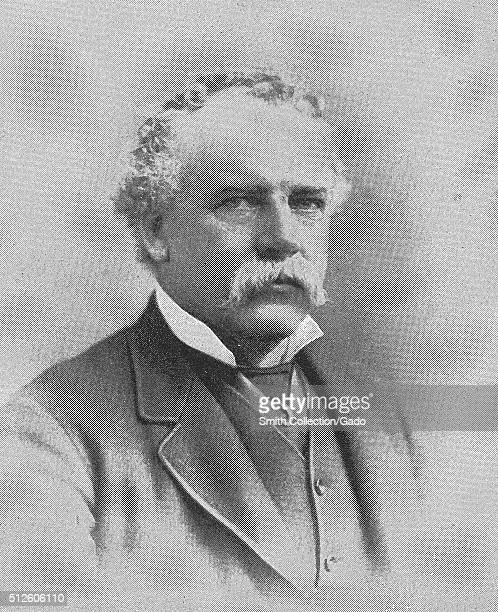 Photographic portrait of George Henry Boker, he was a poet and playwright that served as a US Ambassador to both Turkey and Russia, 1880. From the...