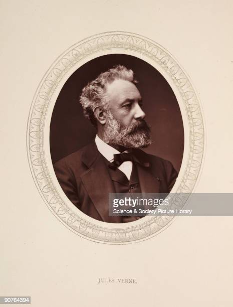 A photographic portrait of Jules Verne [18281905] taken by Samuel Robert Lock [18221881] and George Carpe Whitfield in 1877 Jules Verne's best known...