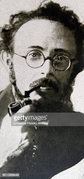 Photographic portrait of Karl Radek an AustrianHungarian Marxist Dated 20th Century