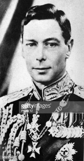 Photographic portrait of King George VI King of the United Kingdom and the Dominions of the British Commonwealth. Dated 20th Century.