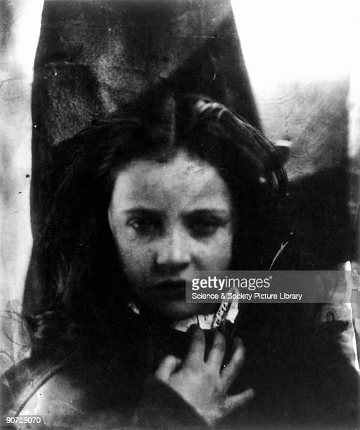 Photographic portrait of Margaret Louis Bradley daughter of Dean Bradley Master of University College Oxford by Julia Margaret Cameron Cameron's...