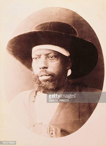 Photographic portrait of Menelik II Emperor of Ethiopia Rome Museo Centrale Del Risorgimento
