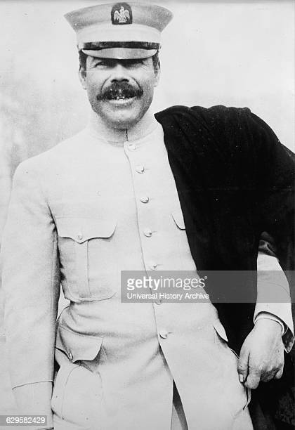 Photographic portrait of Pancho Villa Mexican Revolutionary general and one of the most prominent figures of the Mexican Revolution Dated 1908