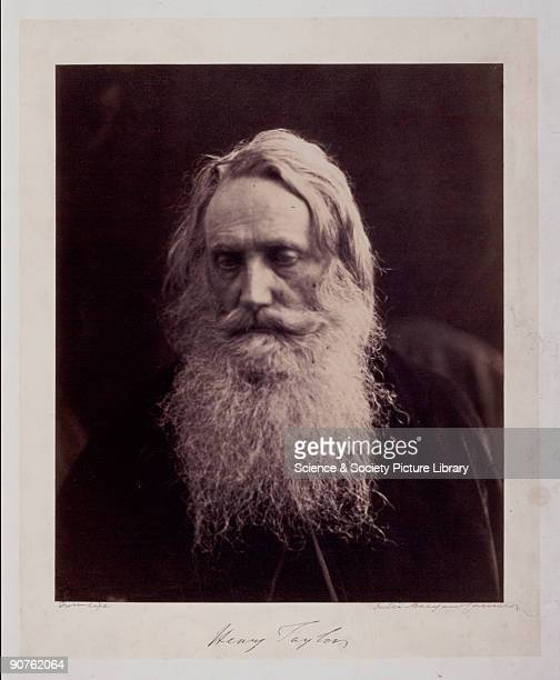 Photographic portrait of poet and dramatist Henry Taylor by Julia Margaret Cameron Cameron's photographic portraits are considered among the finest...