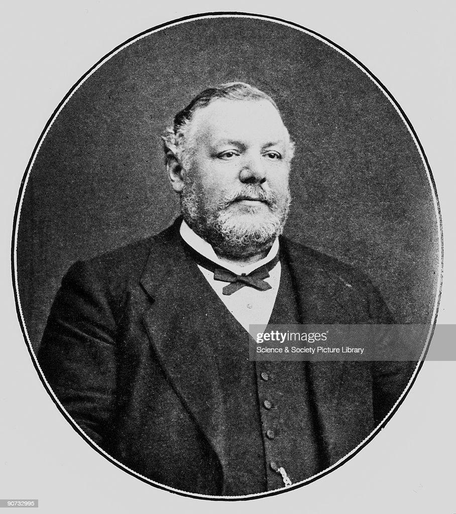 Sir Frank Crisp, English lawyer, botanist and eccentric, 1905. : News Photo