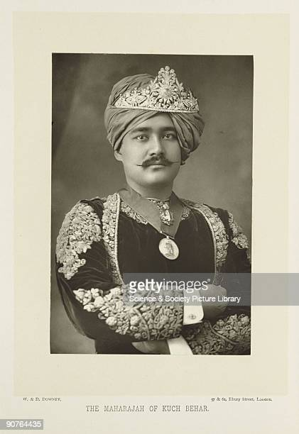 A photographic portrait of Sir Nripendra Narayan Bhup Bahadur the Maharajah of Kuch Behar India taken by W D Downey This photograph was taken during...