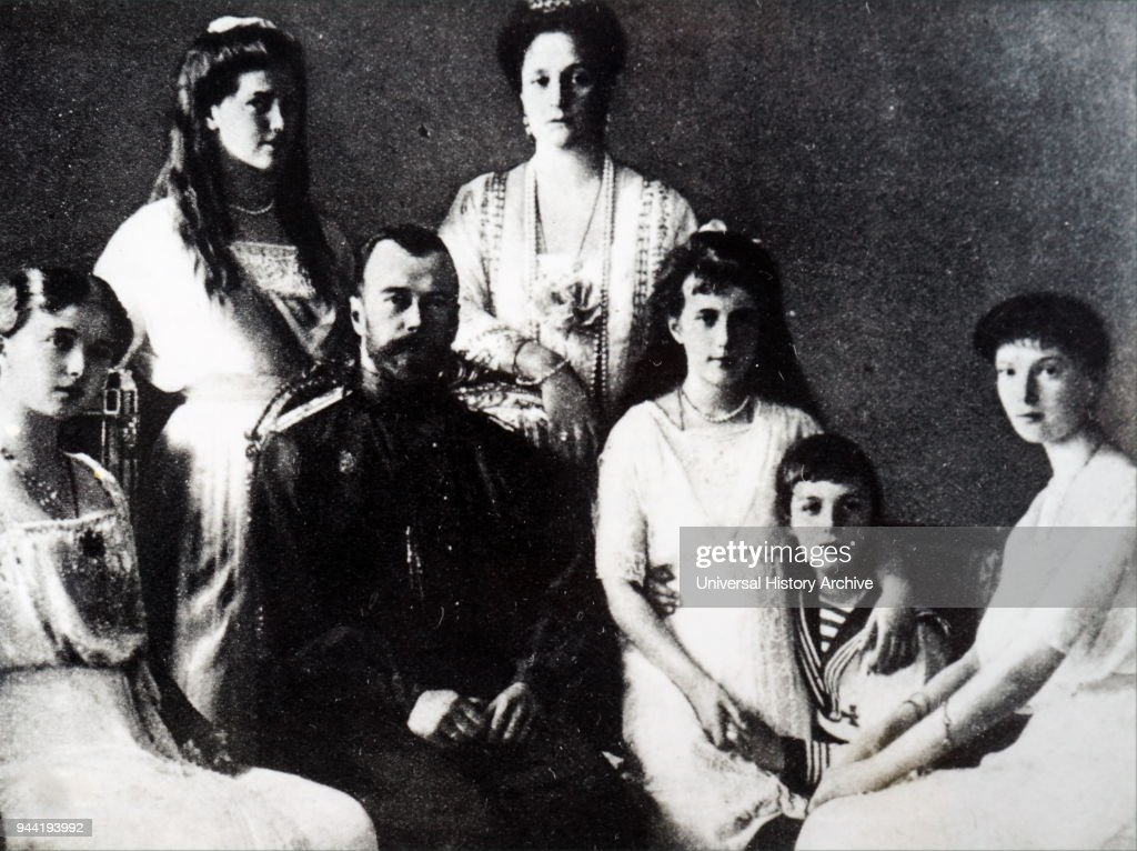 Romanov Family. : News Photo