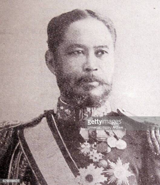 Photographic portrait of Yamamoto Gonnohye admiral in the imperial Japanese navy and Prime Minister of Japan Dated 19th Century