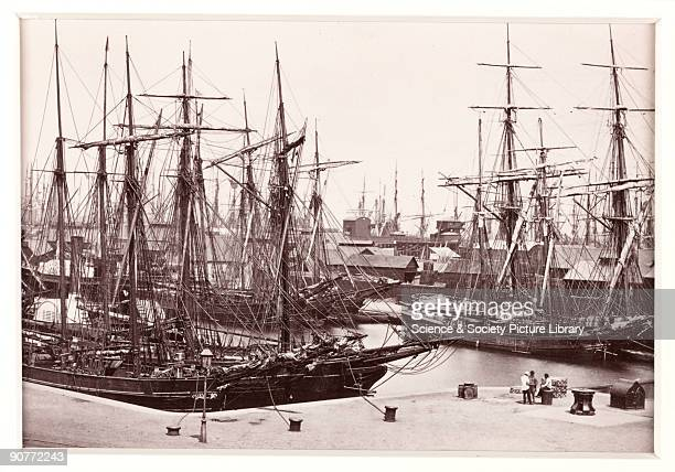A photographic view of the Bute Docks in Cardiff published by Francis Bedford Co Bedford was a prolific and wellrespected photographer best known for...