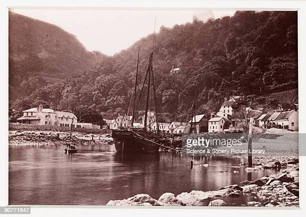 A photographic view of the �Nautilus� moored at Lynmouth published by Francis Bedford Co In August 1952 torrential thunderstorms here caused flash...