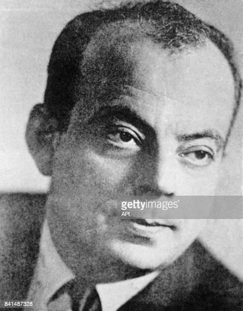 Photographie représentant l'écrivain poète aviateur et reporter français Antoine de SaintExupéry première moitié du 20ème siècle