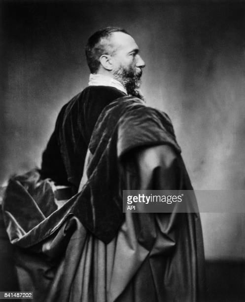 Photographie représentant le romancier et journaliste français Alphonse Karr