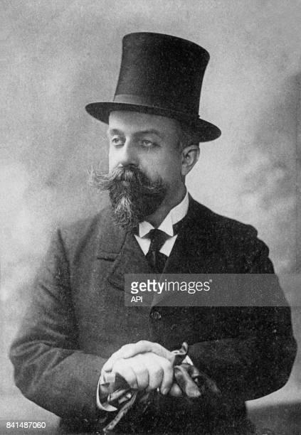 Photographie représentant le romancier et journaliste français Willy