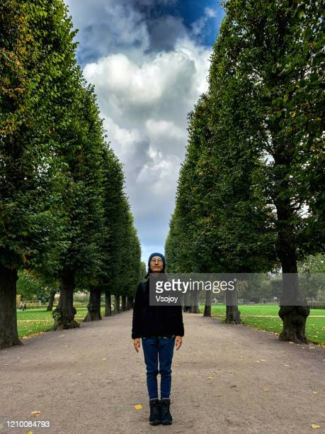 photographing at the king's garden, copenhagen, denmark - vsojoy stock pictures, royalty-free photos & images
